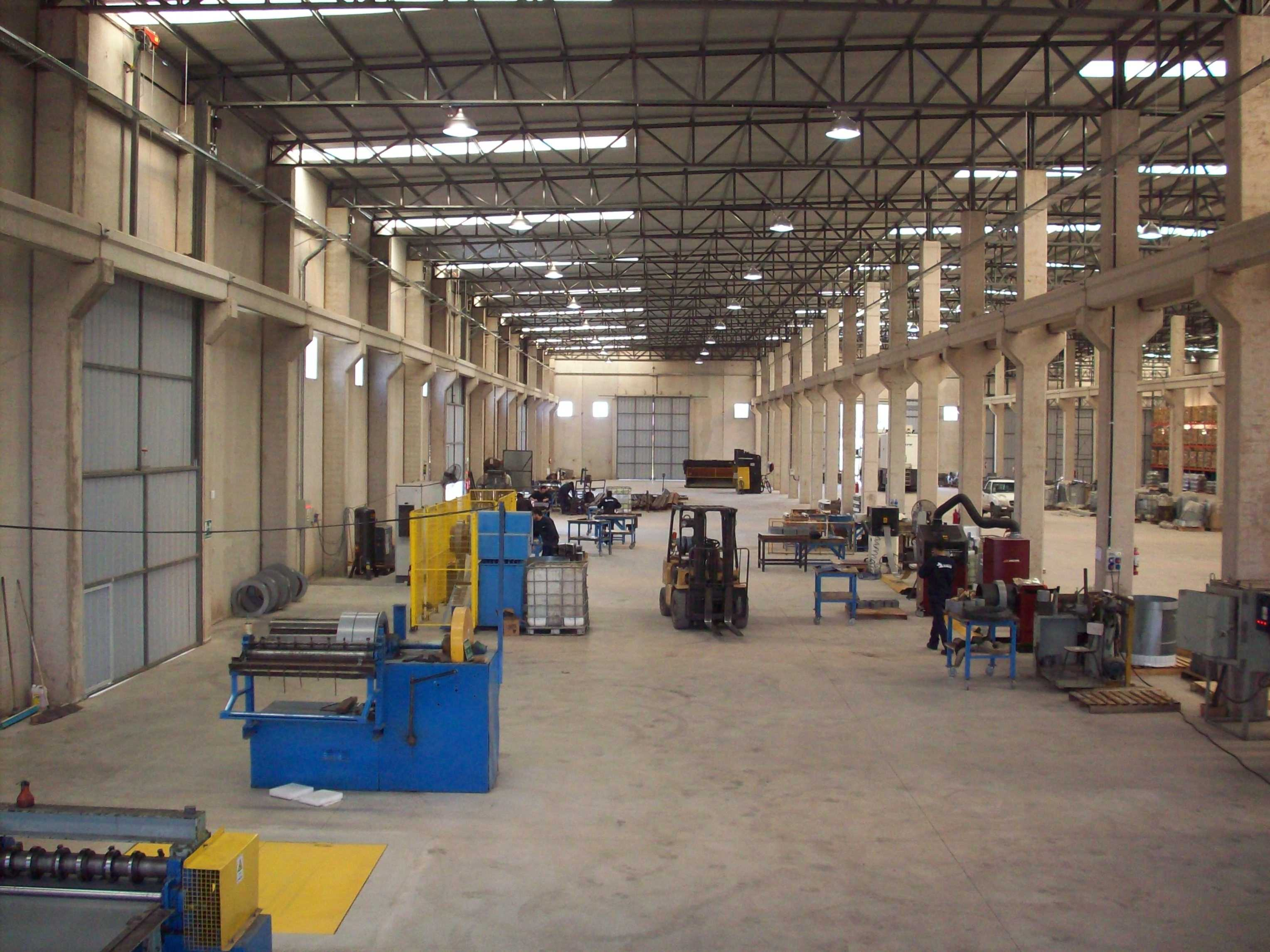 Intermediate Process´new plant - Parque Industrial  Villa Maria.